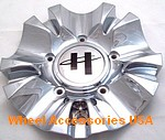 HELO HE844 CHROME CENTER CAP