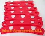 MOTO METAL 961 WHEEL  INSERTS -CHROME OR RED SWATCH