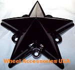 XD SERIES ROCKSTAR / ROCKSTAR II TRUCK CAP REPLACEMENT STAR GLOSS BLACK THUMBNAIL