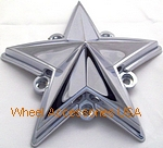 XD SERIES ROCKSTAR / ROCKSTARII TRUCK CAP REPLACEMENT STAR CHROME THUMBNAIL