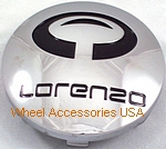 LORENZO WL032 CHROME CENTER CAP