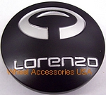 LORENZO WL032 BLACK CENTER CAP