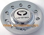 LORENZO WL028 CHROME CENTER CAP