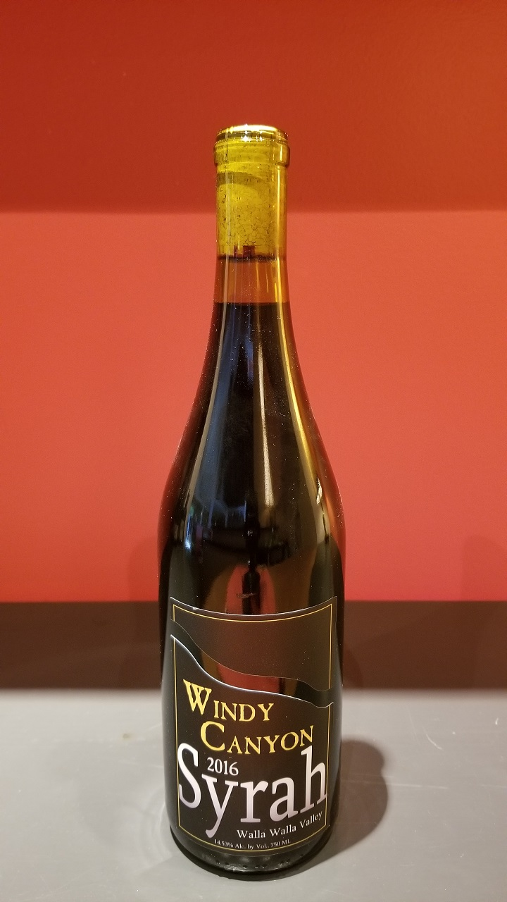 2016 Windy Canyon Syrah