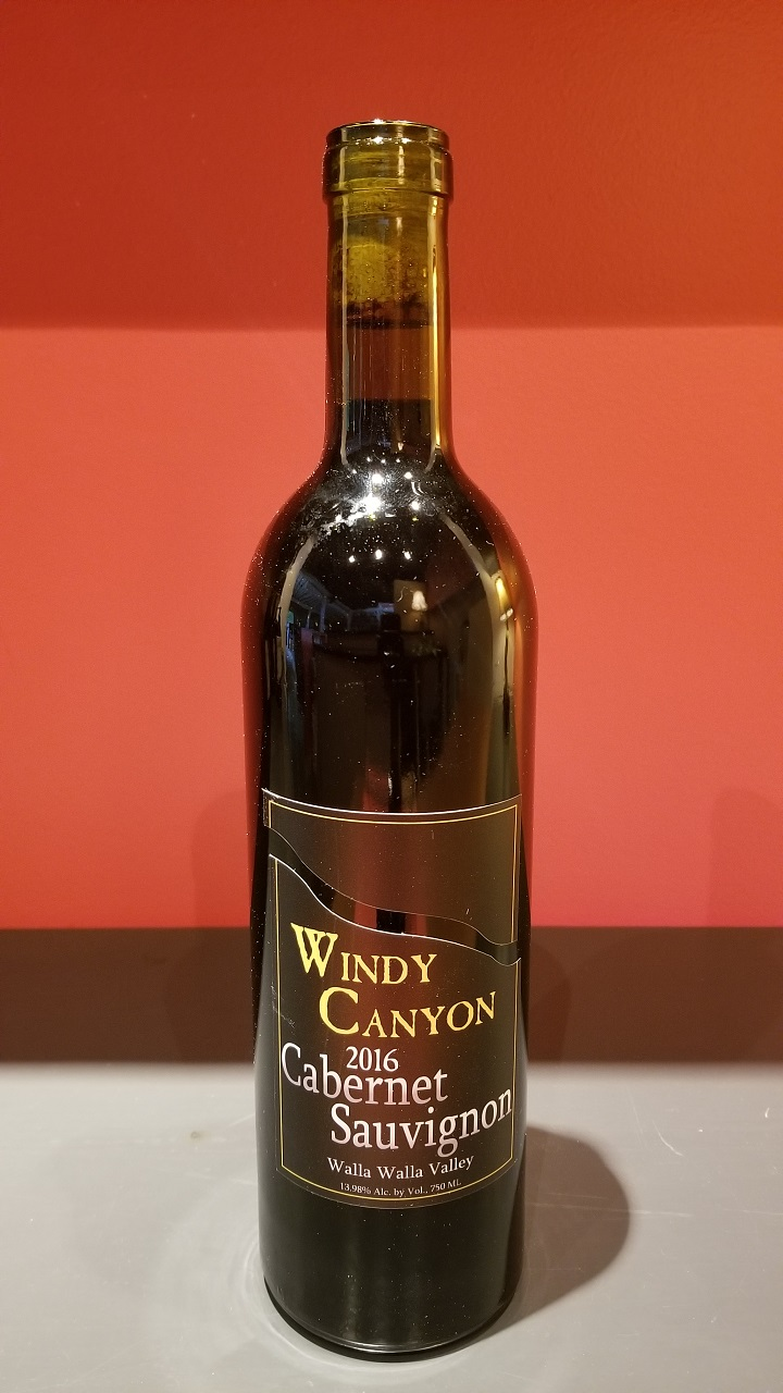 2016 Windy Canyon Cabernet Sauvignon