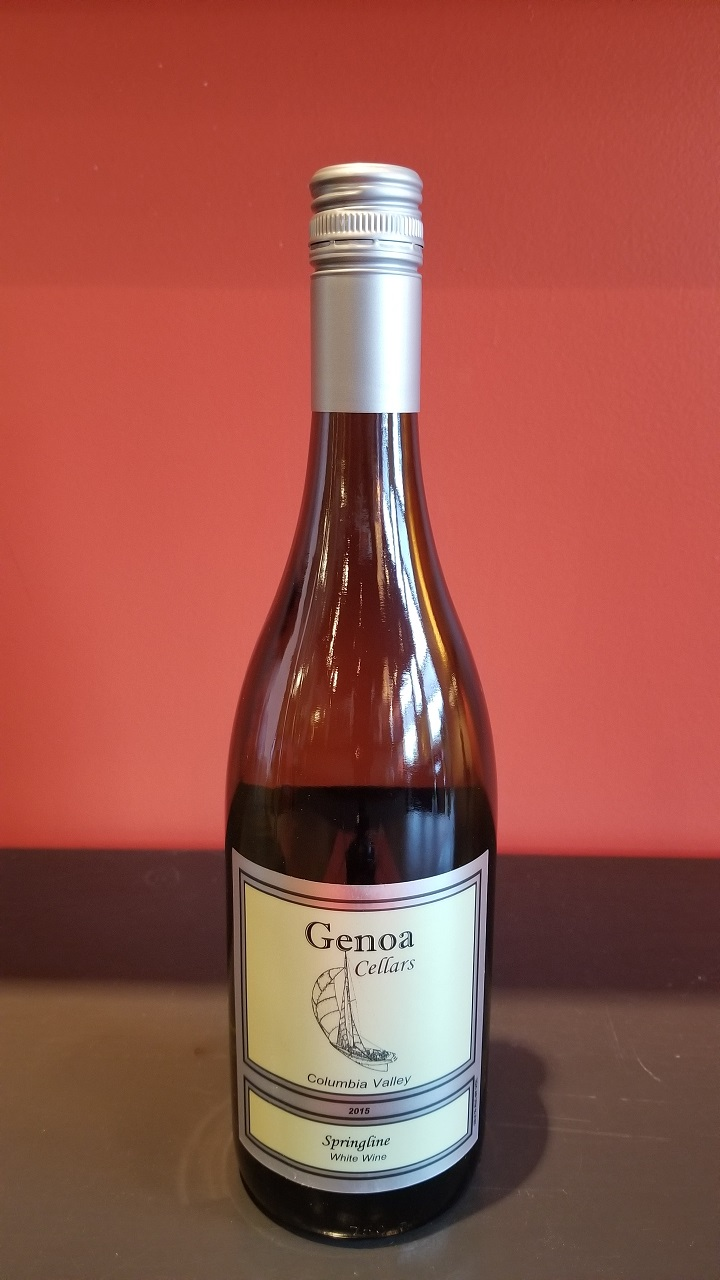2015 Genoa Cellars Springline White MAIN