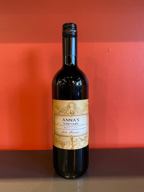 2016 Anna's Vineyard Merlot MAIN