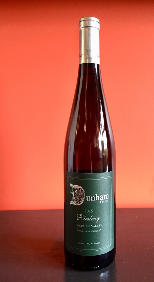 2015 Dunham Cellars Riesling MAIN