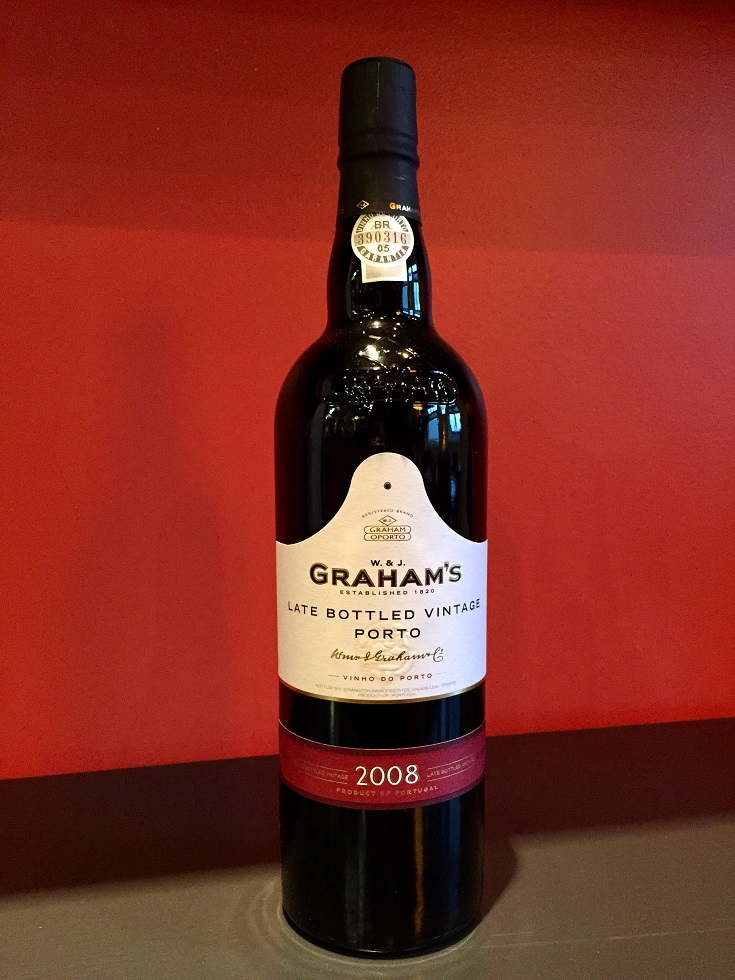 2008 Graham's Late Bottled Vintage Port MAIN