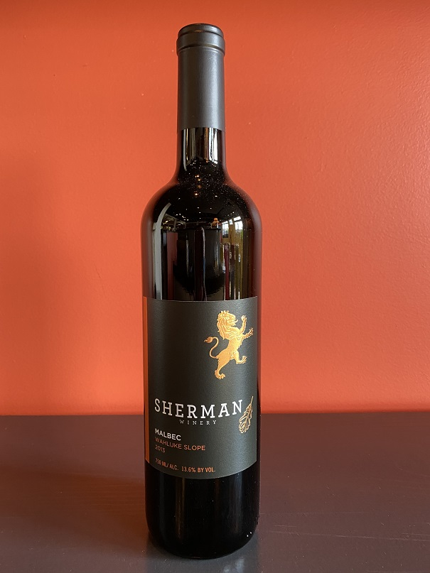 2015 Sherman Winery Malbec MAIN