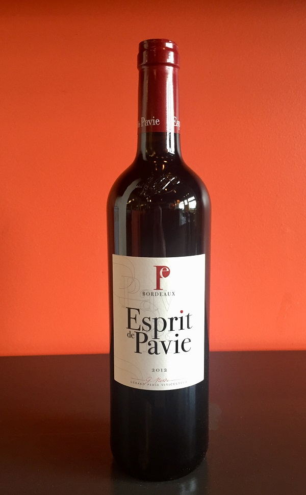 2012 Esprit de Pavie Bordeaux MAIN