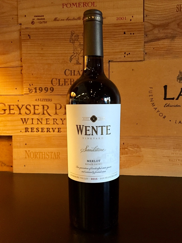 2015 Wente Vineyards Sandstone Merlot THUMBNAIL