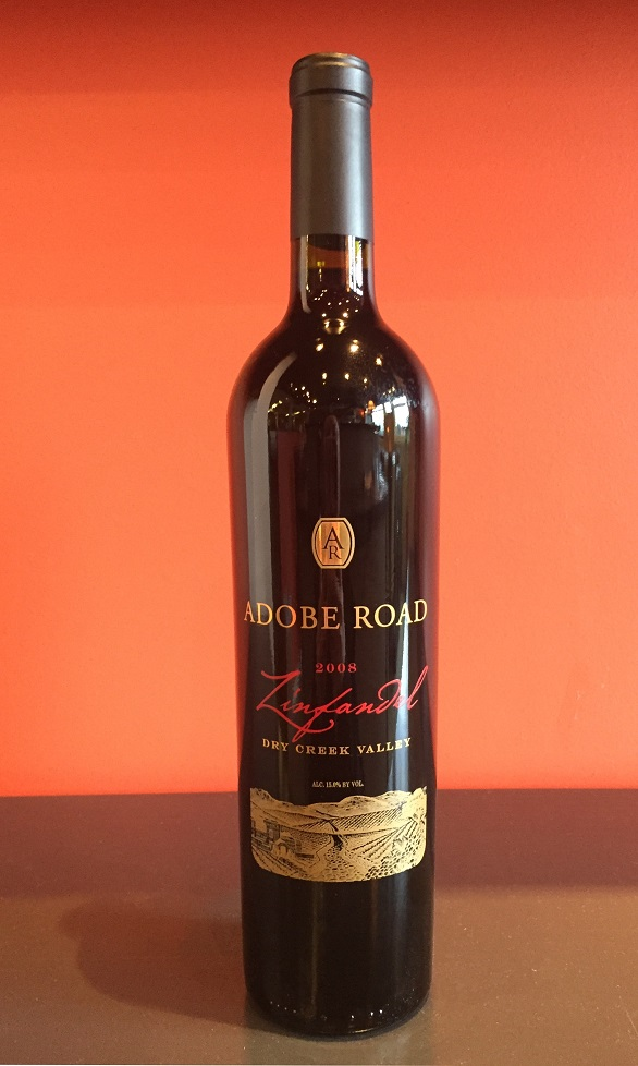 2008 Adobe Road Zinfandel MAIN