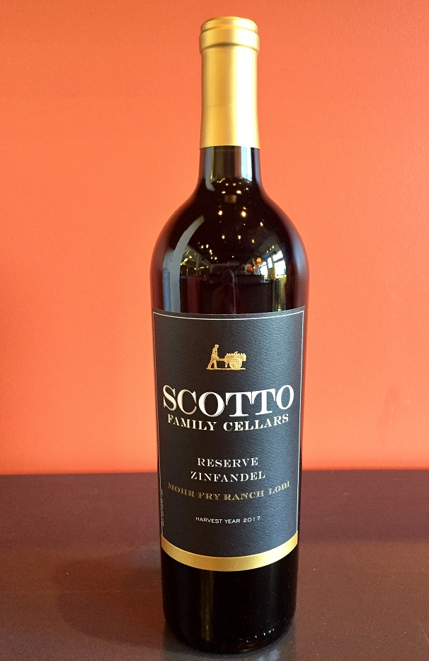 2017 Scotto Family Cellars Reserve Zinfandel MAIN