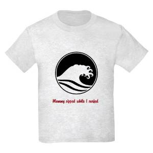 Mommy sipped while I surfed ›› Kid's Tee THUMBNAIL