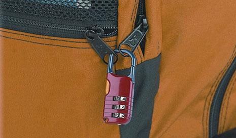 Backpack Locks Winner International Online Store