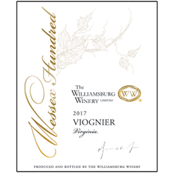 2017 Wessex Hundred Viognier THUMBNAIL
