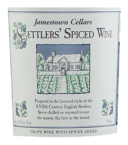 Jamestown Cellars Settlers' Spiced Wine THUMBNAIL